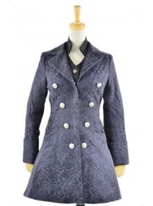 British Style Thick Jacquard Wool Classic Lolita Coat