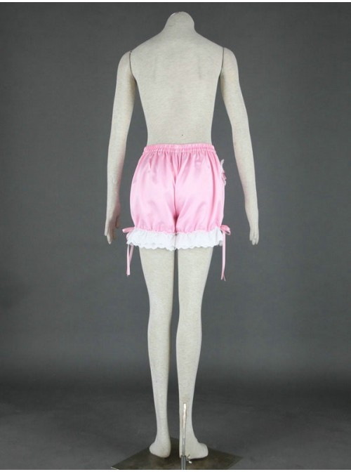 Pink Cute Cotton Lace Lolita Bloomers