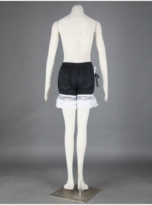 Black Sweet Cotton Lace Lolita Bloomers