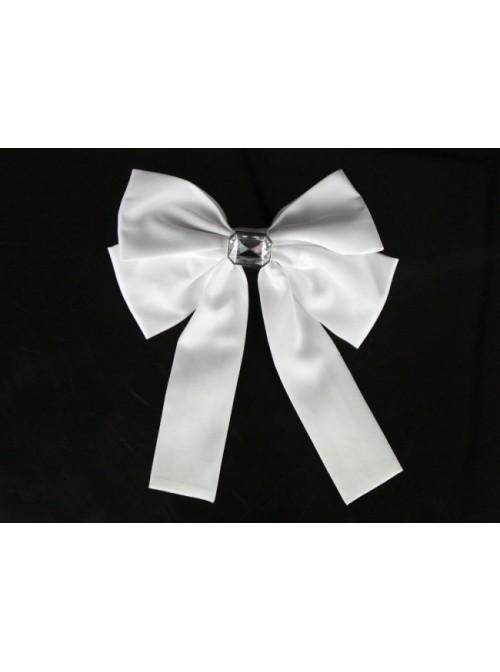White Cute Lace Ruffles Cotton Lolita Skirt