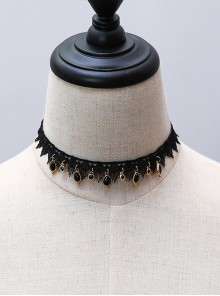 Gothic Victorian Style Lady Lolita Choker