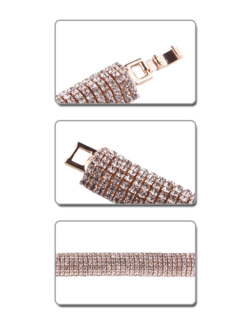 Diamonds Handmade Concise Lady Lolita Wrist Strap