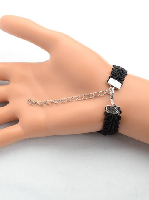 Special Black Lace Fashion Girls Lolita Wrist Strap