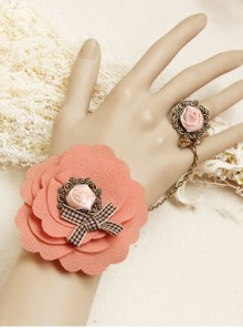 Pink Sweet Bohemian Style Lady Lolita Wrist Strap