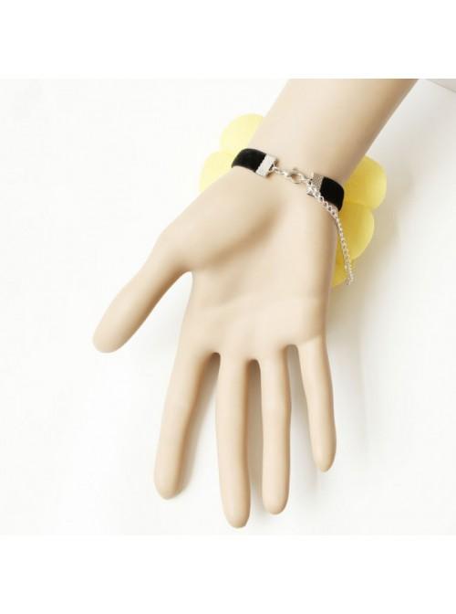 Sweet Yellow Floral Rose Lolita Wrist Strap