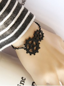 Fashion Chain Gears Decoration Lolita Wrist Strap