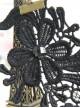 Gothic Black Lace Handmade Lolita Ankle Belt