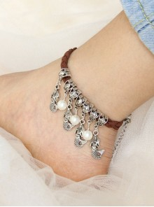 Mermaid Pearl DIY Lady Lolita Ankle Belt