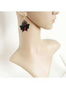 Handmade Butterfly Girls Lolita Earrings