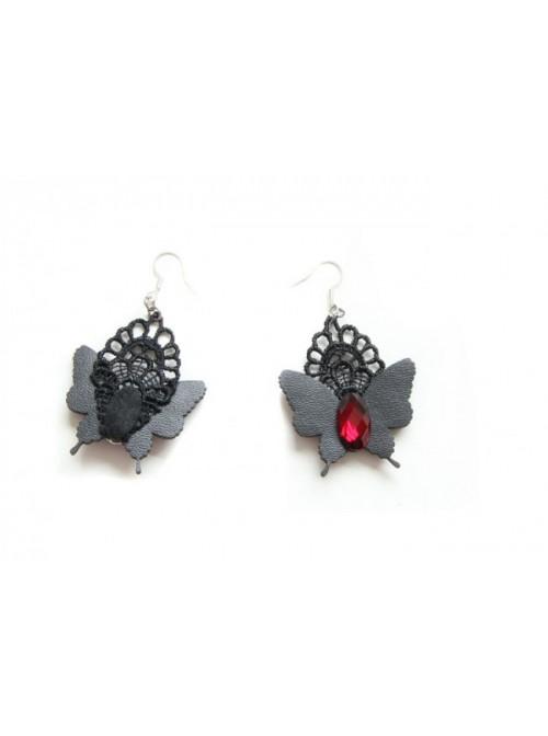 Handmade Butterfly Girls Lolita Earrings