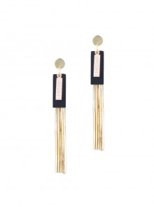 Sexy Long Tassel Concise Lady Lolita Earrings