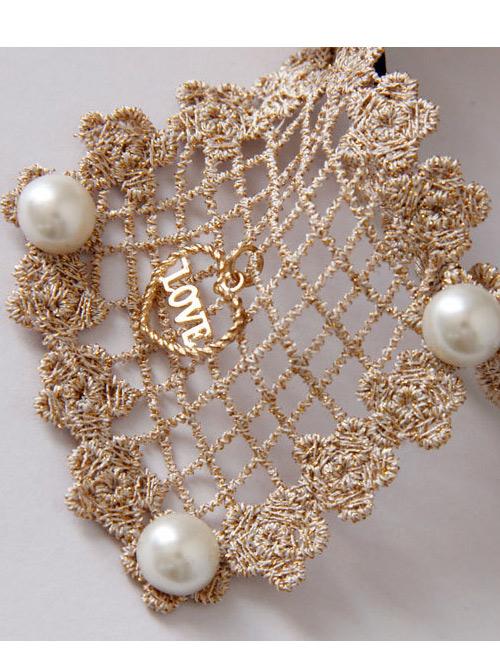 Sweet Lace Bowknot Lady Handmade Lolita Headband