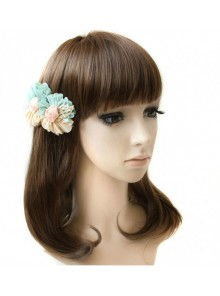 Sweet Flowers Girls Handmade Lolita Hairpin