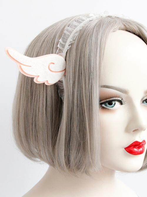 Beautiful Angel Wings Lady Handmade Sweet Lolita Headband