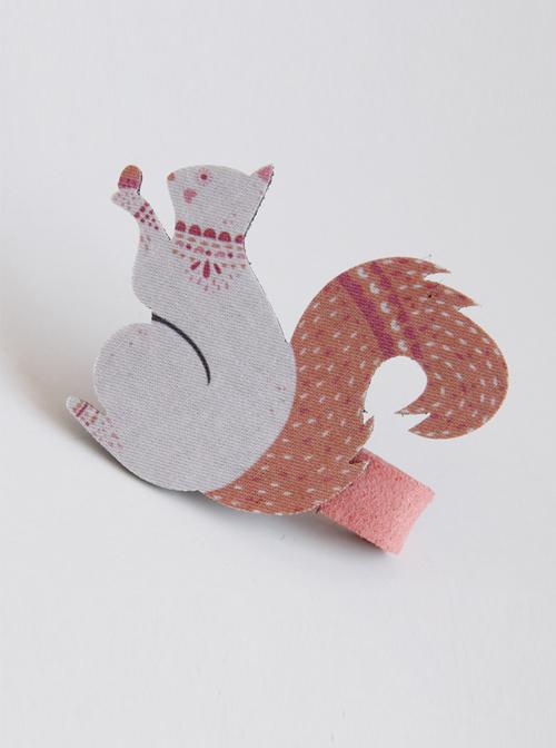 Cute Squirrel Christmas Sweet Lolita Hairpin