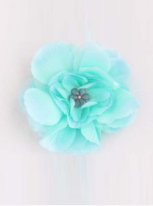 Sweet Floral Girls Handmade Lolita Hairpin