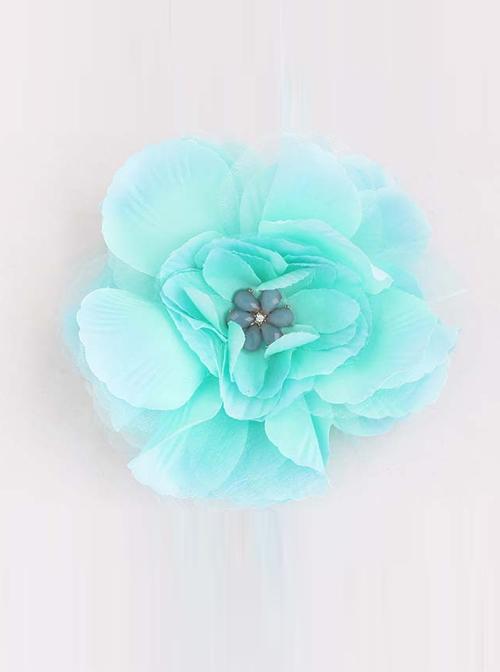 Sweet Floral Girls Handmade Lolita Hairpin