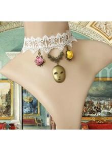 Classic Floral Masquerade Ball Palace Lolita Choker