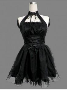 Black Sexy Gothic Lolita Dress