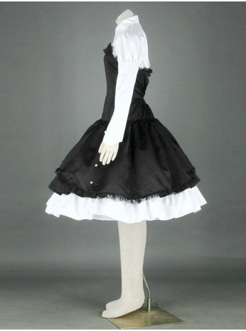 Charming Lady Cotton Gothic Lolita Dress