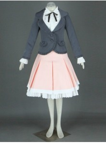 Pink Long Sleeves Cotton Sweet Lolita Costume