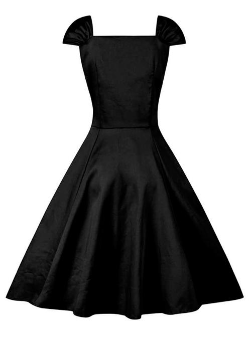 Bow High Waist Classic Lolita Sleeveless Dress