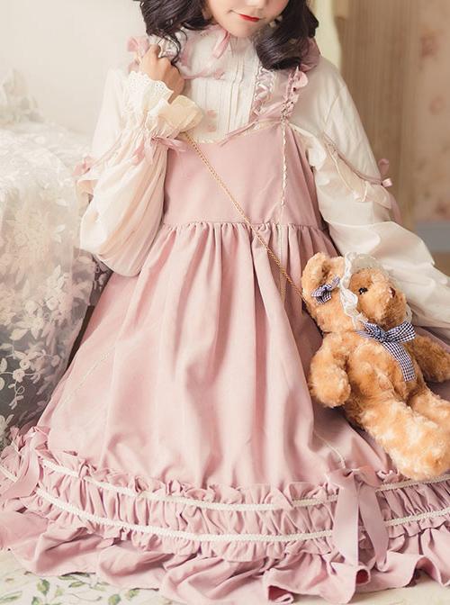 Elegant Bowknot Classic Lolita Long Sleeve Dress