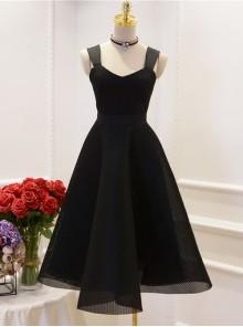 Retro Hepburn Style Elegant Classic Lolita Sling Dress