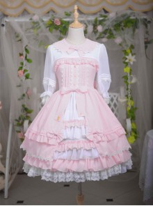 Sleepwalking Fairy Tale Series Classic Lolita Half Sleeve Dress