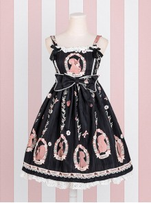 Pine Forest Monogatari Series Classic Lolita Sling Dress