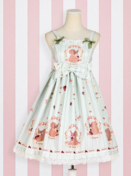 Pine Forest Monogatari Series Classic Lolita Sling Dress