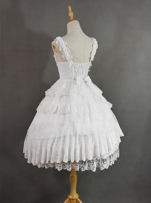Dangerous Liaisons Series Chiffon Retro Gothic Lolita Short Sleeve Dress