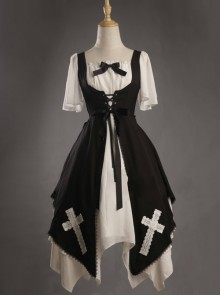 Aria Series Short Sleeve Gothic Lolita Dress
