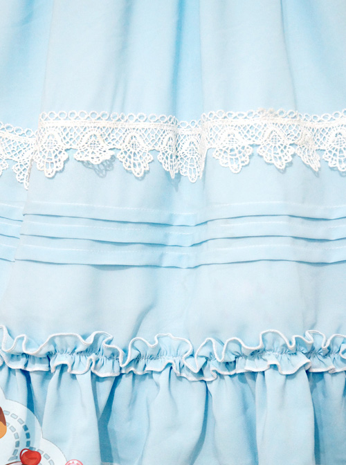 Profiteroles Series Doll Collar Short Sleeve Sweet Lolita Dress