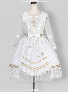 Puff Sleeve Bowknot Ruffles Classic Lolita Dress