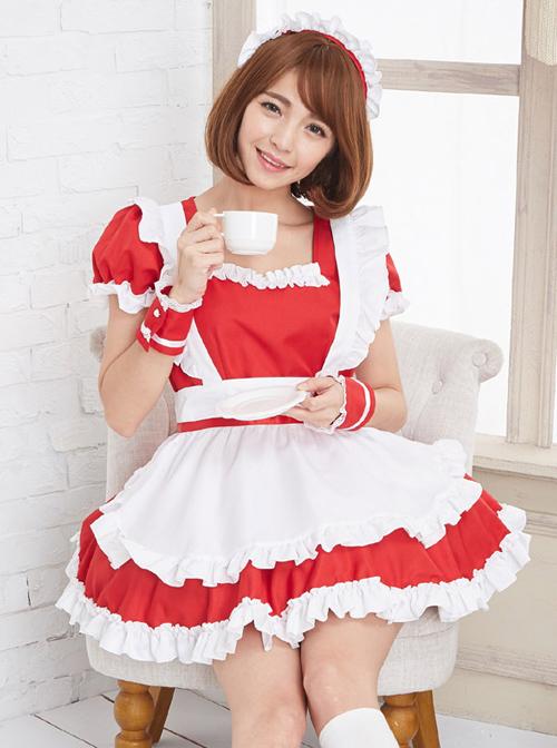 Coffee House Cute Cosplay Maid Costume