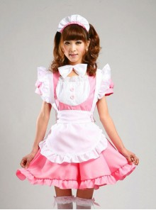 Short Sleeve Maid Costume Sweet Lolita