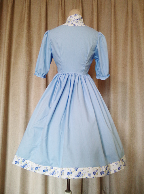 Chinese Maiden Series Chinese Style Short Sleeve Classic Lolita Dress