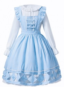 Freyja's Spring Series Classic Lolita Hollowed Out Pastoral Apron