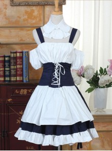 Chobits Cosplay Costume Classic Lolita Dress Set