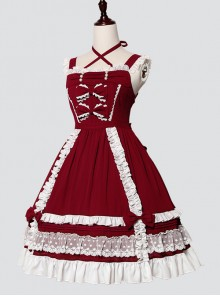 To My Dear Kelly Series Classic Lolita Sling Dress