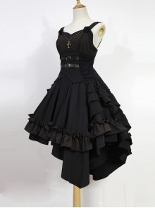 Seraph Night Series Elegant Gothic Lolita Sling Dress