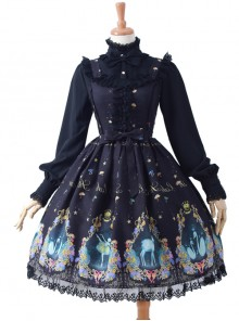 Swan Lake Series Classic Lolita Sling Dress