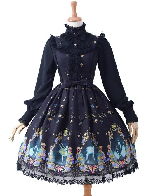 Swan Lake Series Classic Lolita Sling Dress