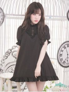 Chiffon RuffleS Short Sleeve Sweet Lolita Dress