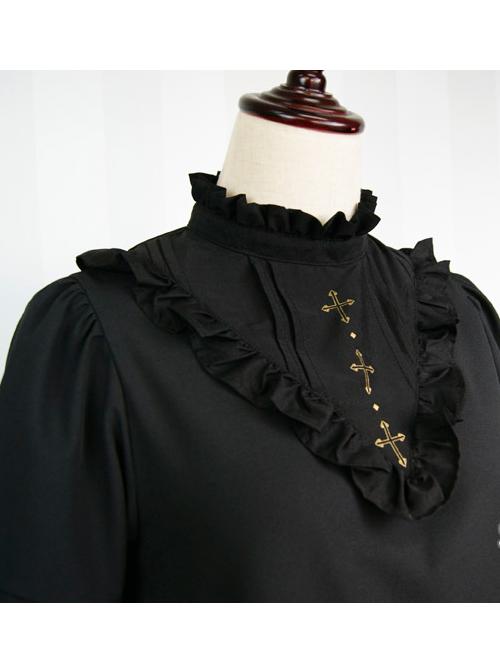 Chiffon RuffleS Short Sleeve Sweet Lolita Dress