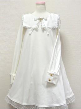Cute Macarons Color Sweet Lolita Long Sleeve Dress