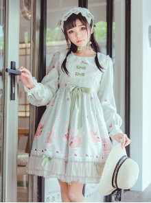 Pink Sleeveless Sweet Bow Lolita Dress