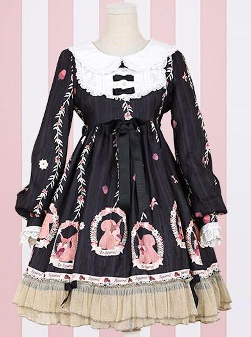 Pink Sleeveless Sweet Bow Lolita Dress