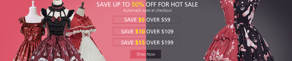 Save up to 50% off for hot sale